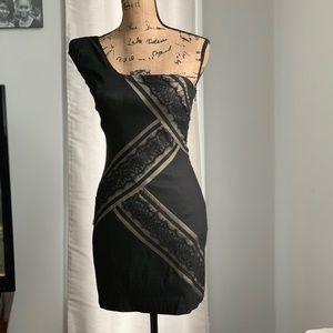 🛍Jessica McClintock one shoulder dress sz 4